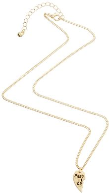 Asos Best Friends Partners in Crime Necklaces - Lyst