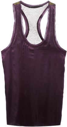Haider Ackermann Raw Cut Vest Top - Lyst