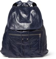 Balenciaga Medium Creasedleather Backpack - Lyst