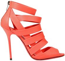 Jimmy Choo Shoes Damsen Heel 110 Stripe Leather Fluo - Lyst
