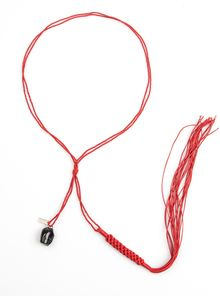 Ann Demeulemeester Fringed Rope Necklace - Lyst