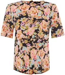 Therapy Large Floral Print Top - Lyst
