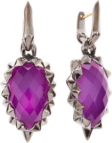 Stephen Webster Superstud Sugalite Spike Earrings - Lyst