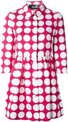 Love Moschino Fuxia Cotton - Lyst