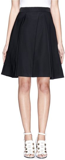 McQ by Alexander McQueen Pleated Kneelength Skirt - Lyst