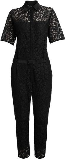 Erdem Vala Cotton Lace Jumpsuit - Lyst