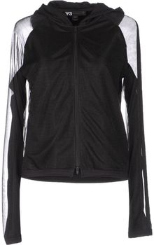 Y-3 Hooded Sweatshirt - Lyst