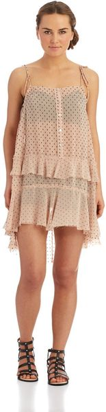 Free People Ruffle Dress - Lyst