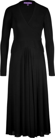 Ralph Lauren Collection Jersey Chantal Dress - Lyst