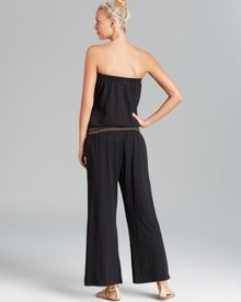 Lucky Brand Color Splash Romper Pant Swim Cover Up - Lyst