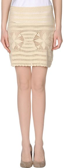 Gianfranco Ferré Mini Skirt - Lyst