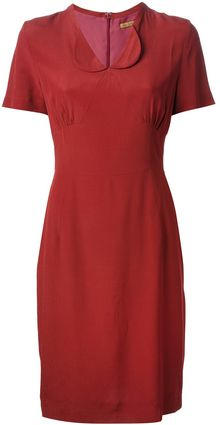 Peter Jensen Diana Crepe Dress - Lyst