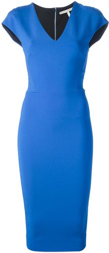 Victoria Beckham Bodycon Dress - Lyst
