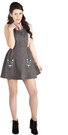 ModCloth No Time Like Meow Jumper - Lyst