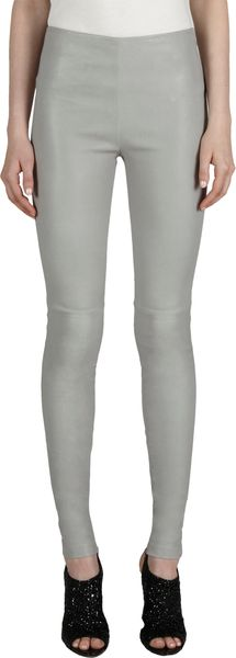 Balenciaga Leather Leggings - Lyst