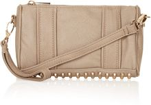 Topshop Studded Zip Top Crossbody Bag - Lyst