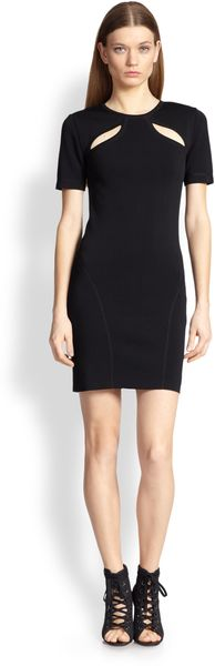 Emilio Pucci Shoulder Cutout Dress - Lyst