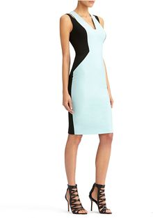 Rachel Roy Mix Cut Shoulder Dress - Lyst