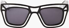 Ksubi Clear Outline Skeleton Sunglasses - Lyst