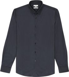 Reiss Fire Grosgrain Detail Shirt - Lyst