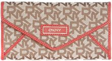 DKNY Saffiano Red Large Envelope Purse - Lyst