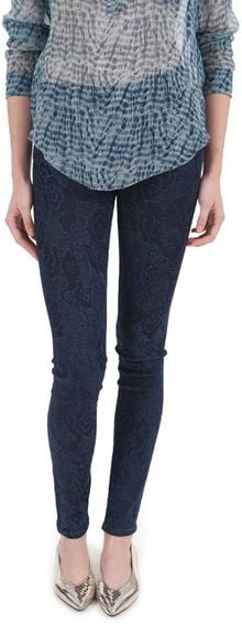 Goldsign Lure Skinny Jean - Lyst