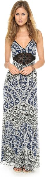 Free People Legends Folklore Maxi Dress - Lyst