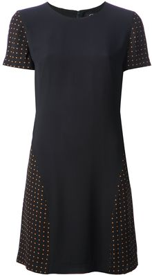 McQ by Alexander McQueen Cross Print Tshirt Dress - Lyst