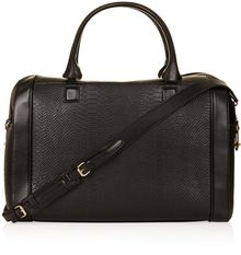 Topshop Double Zip Luggage Bag - Lyst