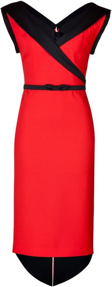 L'Wren Scott Twotone Dress - Lyst