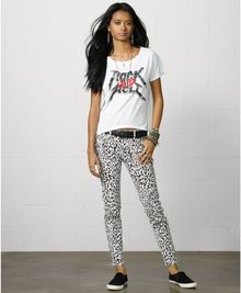 Denim & Supply Ralph Lauren Rockandroll Graphic Tee - Lyst
