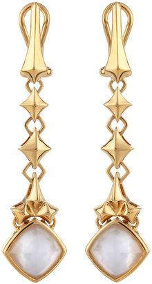 Stephen Webster Goldplated Dangle Earrings - Lyst