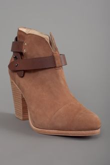 Rag & Bone Harrow Suede Booties - Lyst