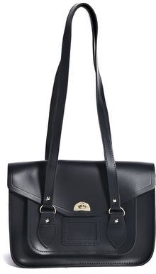 Cambridge Satchel Company Large Shoulder Satchel in Navy - Lyst