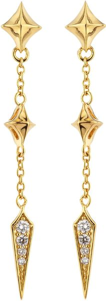 Stephen Webster Diamondspike Dangle Earrings - Lyst
