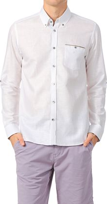 Ted Baker Long Sleeve Shirt Ga16forever - Lyst