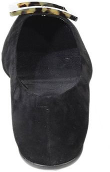 Roger Vivier Shoes Ballet Rubber Sole Suede Turtle - Lyst