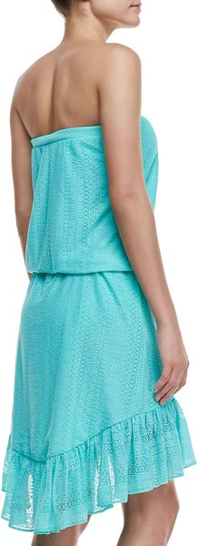 Juicy Couture Prima Donna Blouson Coverup Dress - Lyst
