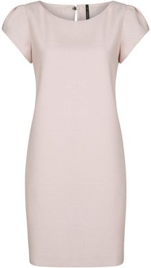 Mango Textured Shift Dress - Lyst