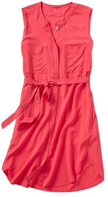 Gap Sleeveless Shirtdress - Lyst