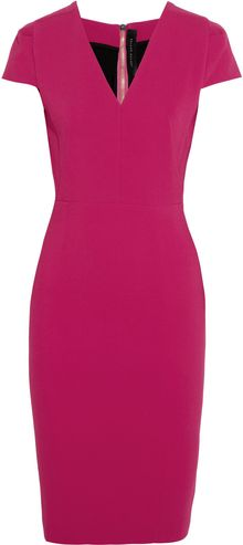 Roland Mouret Cajeput Stretchcrepe Dress - Lyst