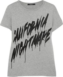 Ksubi California Nightmare Cottonjersey Tshirt - Lyst