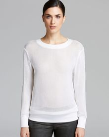 Helmut Lang Sweatshirt Space Knit - Lyst