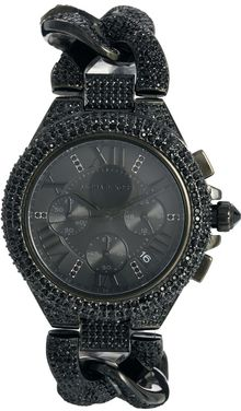 Michael Kors Camille Black Watch - Lyst