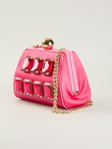 Moschino Cheap & Chic Gem Embellished Shoulder Bag - Lyst