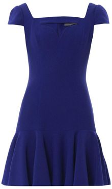 Alexander McQueen Cutout Sweetheart Neckline Dress - Lyst