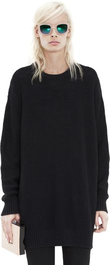 Acne Sade Black - Lyst