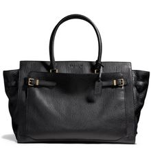 Coach Crosby Carryall in Lux Leather - Lyst
