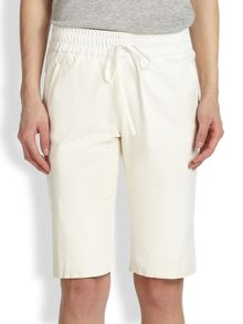 Sachin & Babi Futuna Long Leather Shorts - Lyst