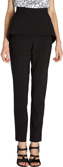 Balenciaga Skirted Slim Pants - Lyst